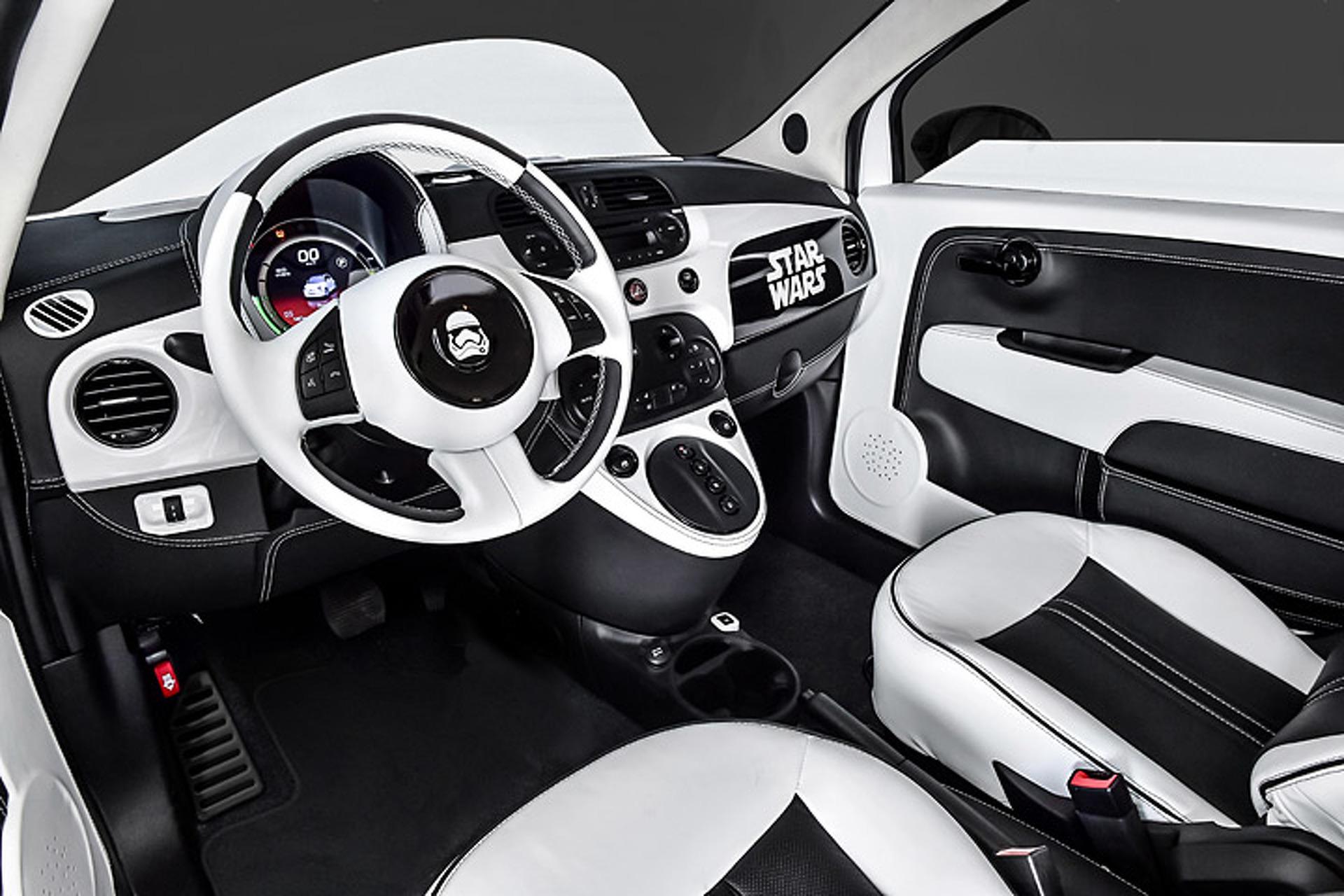 Star Wars Fans, Your Stormtrooper Fiat 500e Awaits