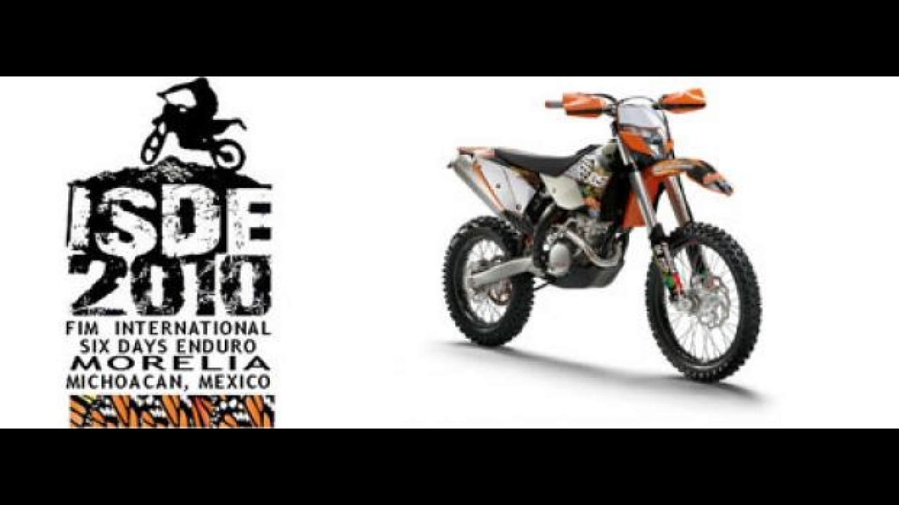 Con KTM alla Six Days in Messico