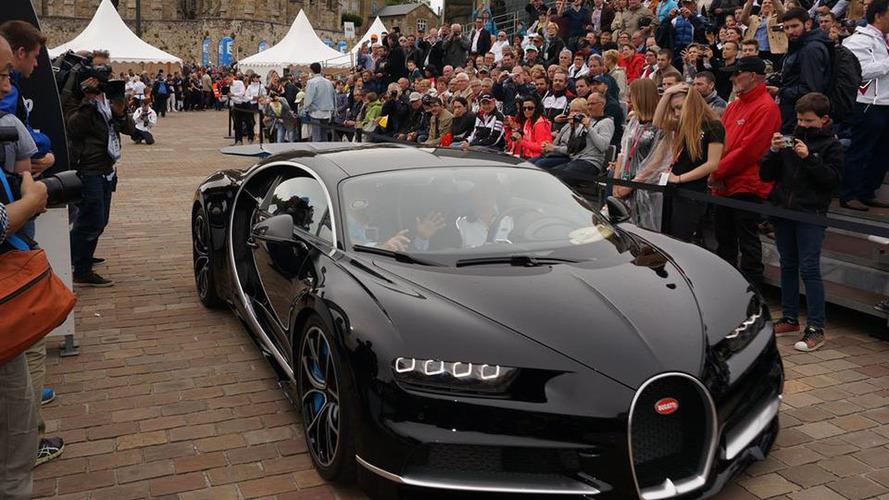 200 Bugatti Chiron ont déjà trouvé acquéreur !