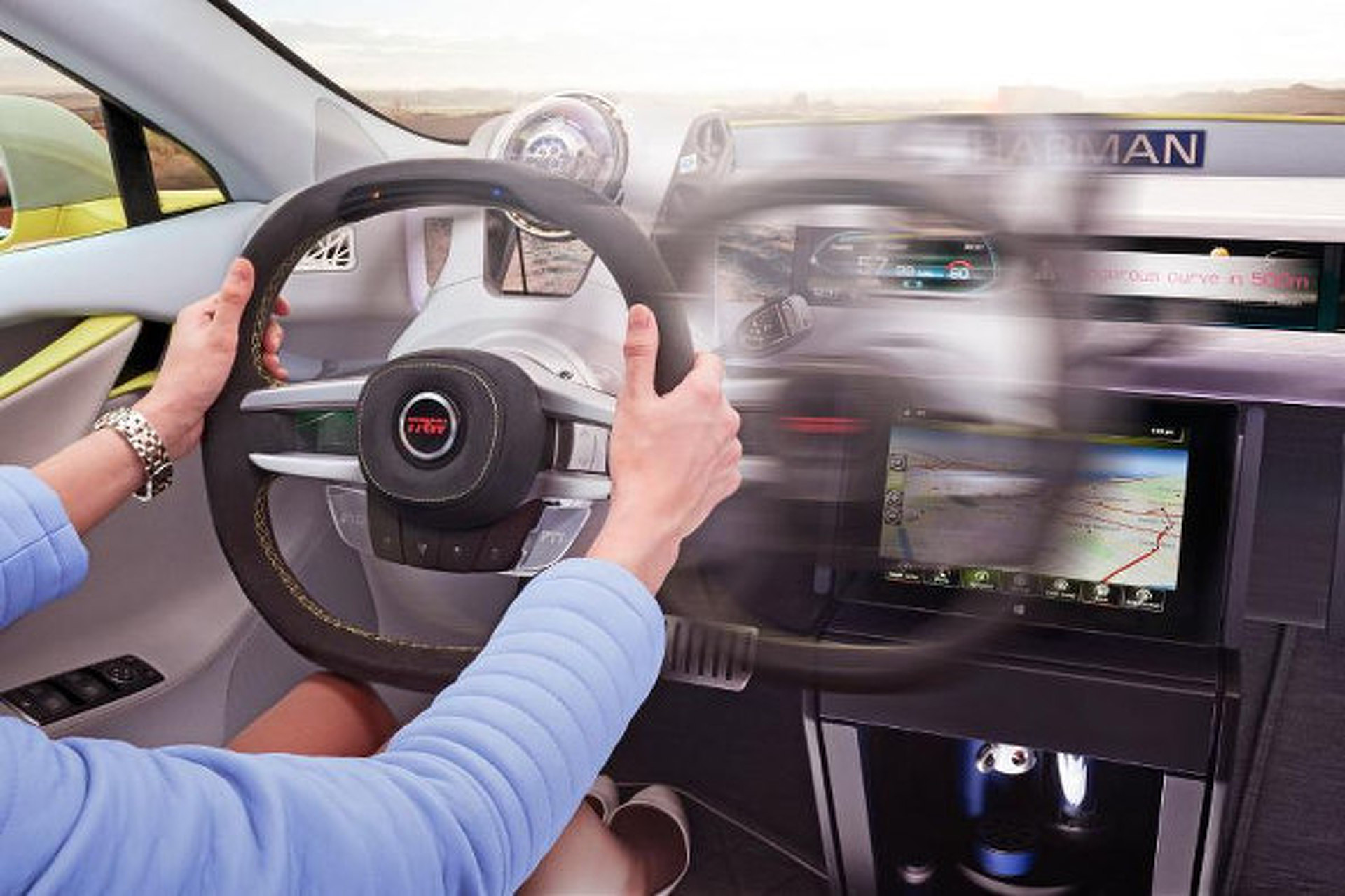 movable steering wheel has a future in autonomous cars Future Cars and Bikes