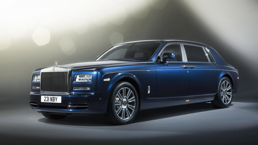 Rolls-Royce launches bespoke Phantom Limelight Collection