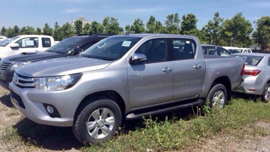 Toyota Hilux caught completely undisguised