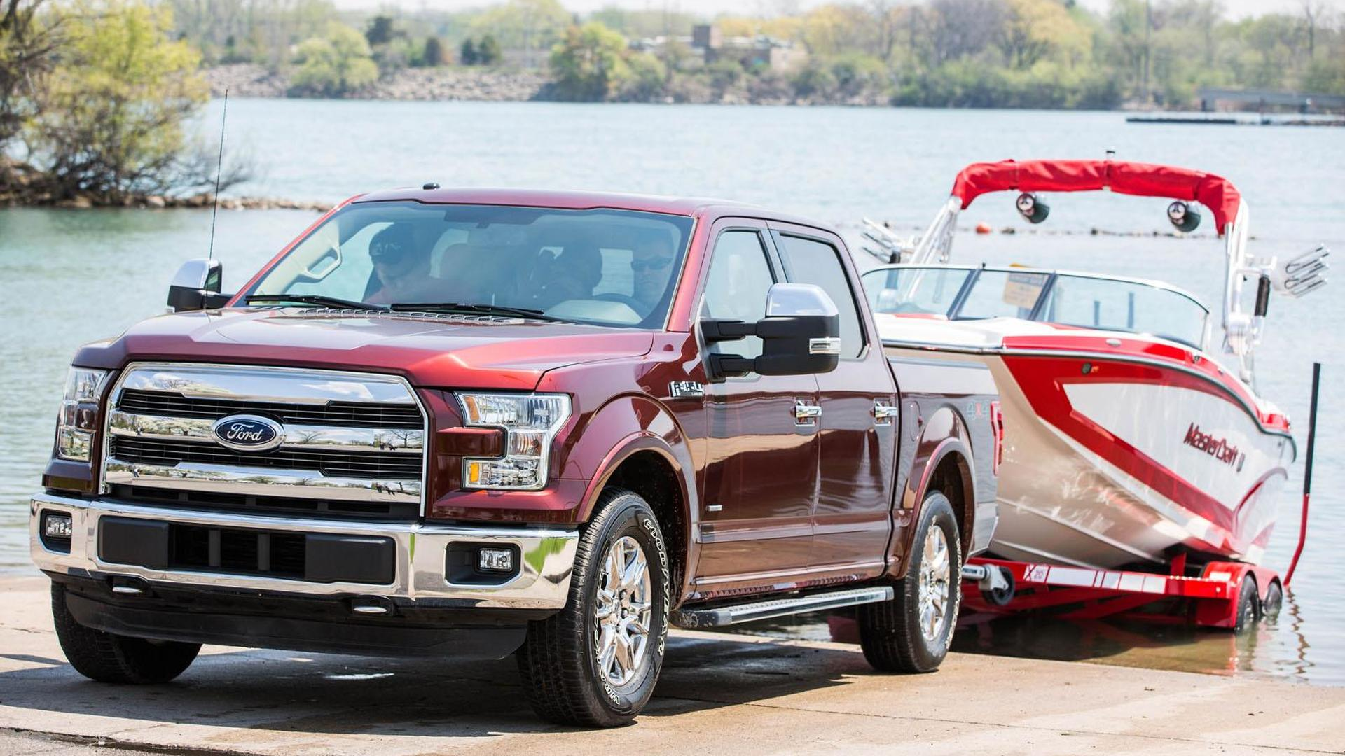 Ford Trailer Backup Assist >> 2016 Ford F 150 To Offer A New Pro Trailer Backup Assist Feature Video