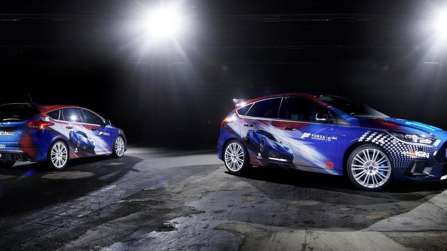 Ford unveils a Forza Motorsport 6 theme Focus RS