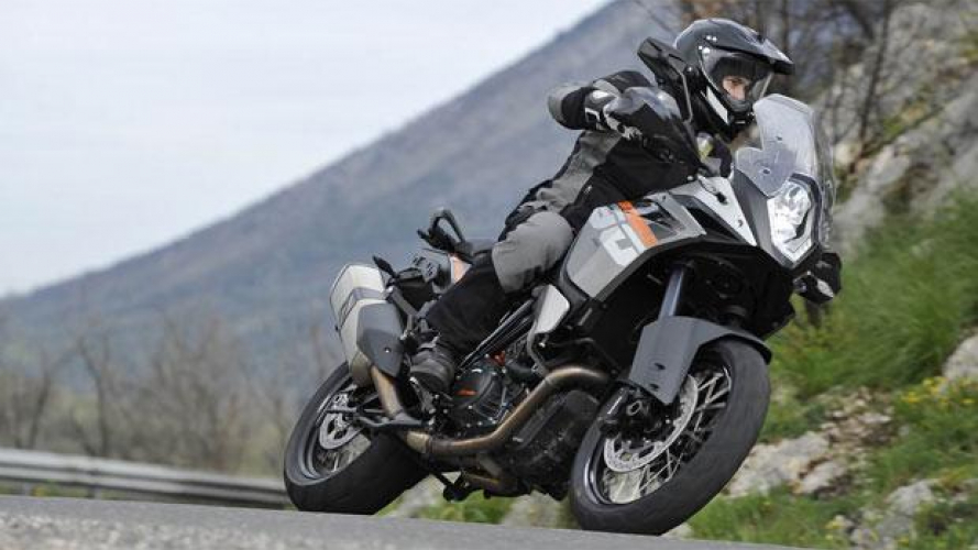 Bosch/KTM Motorcycle Stability Control: ora disponibile sulle 1190 ADV, anche MY 2013