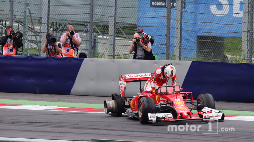 Pirelli says Vettel's tyre failure caused by debris