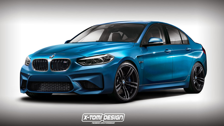 BMW M1 Saloon rendered just for fun