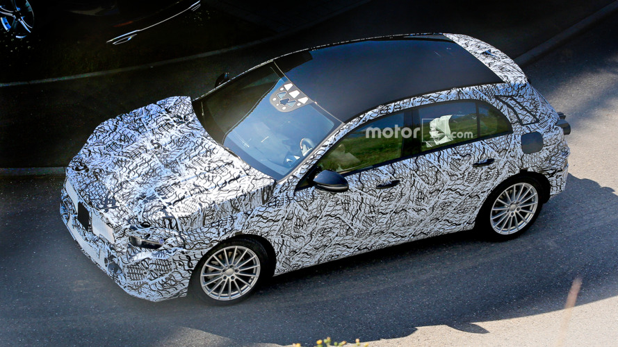 2018 Mercedes A-Class makes spy photo debut