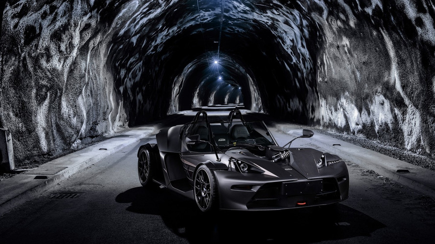 KTM's sinister X-BOW GT Black Edition costs €99k