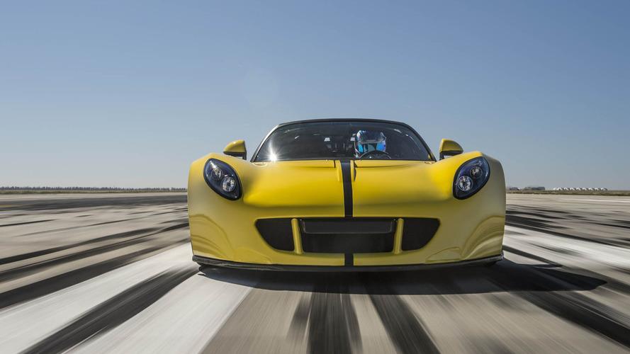 Vidéo - La Venom GT Spyder bat les records