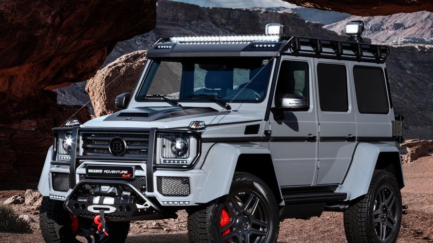 Brabus imzalı Mercedes G500 4x4² Landaulet' yakından bakın