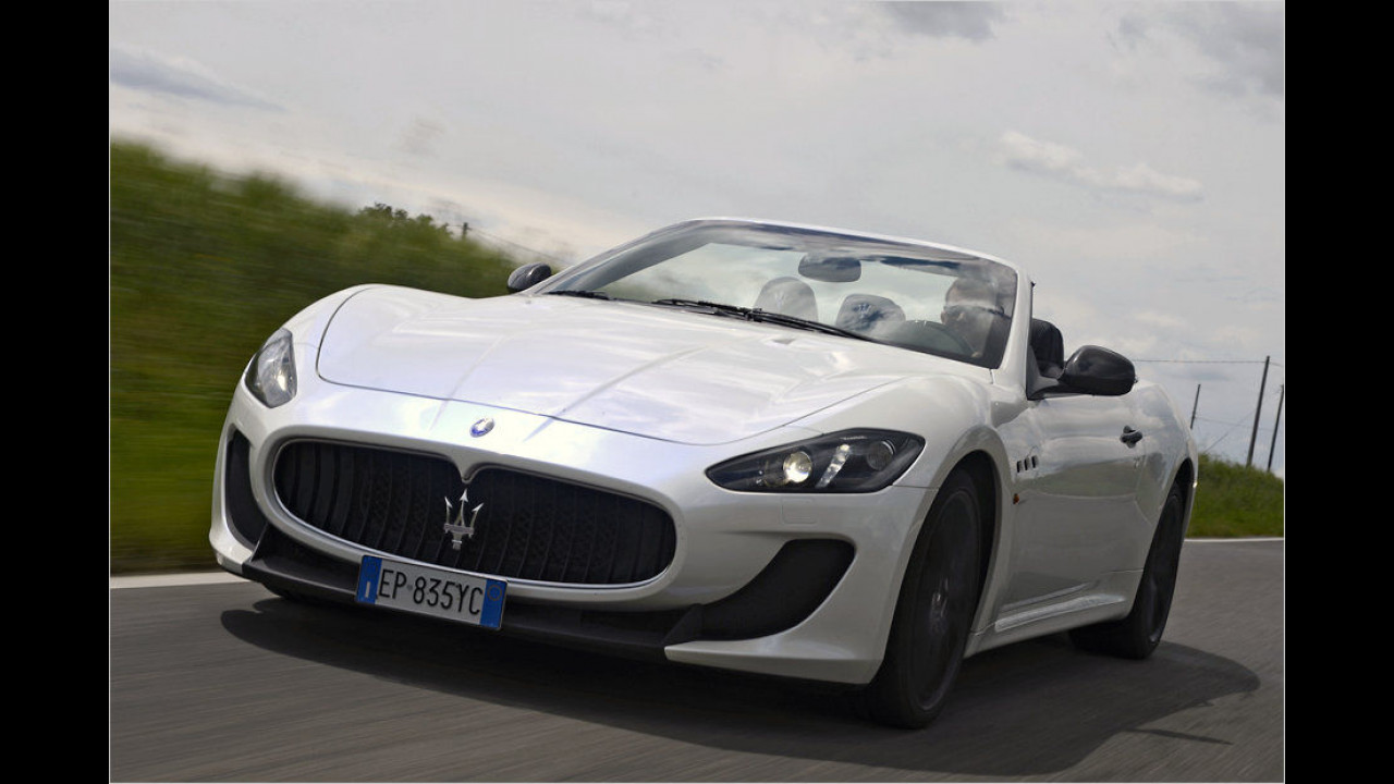 Platz 9: Maserati GranCabrio
