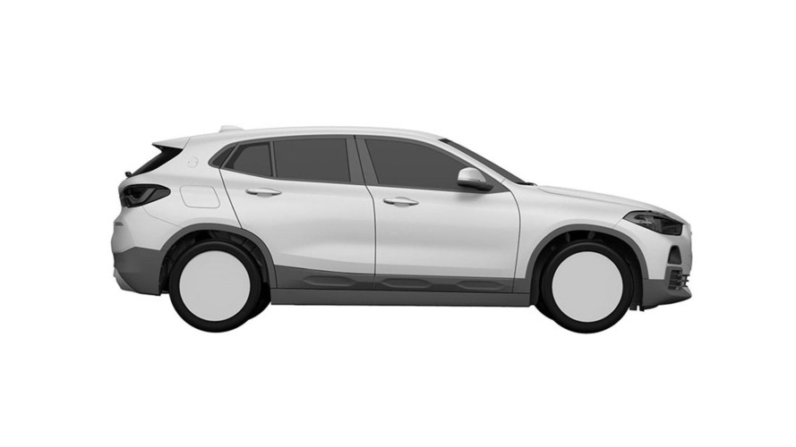 BMW X2 patent drawings