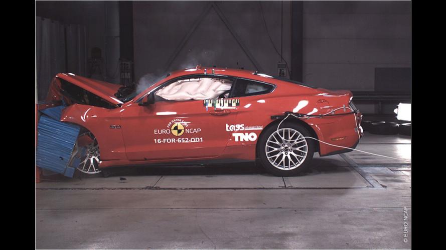 Sicherer Volvo, gefährlicher Mustang?