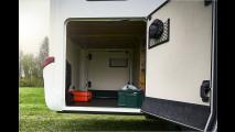Neue Wohnmobile, neue Wohnwagen
