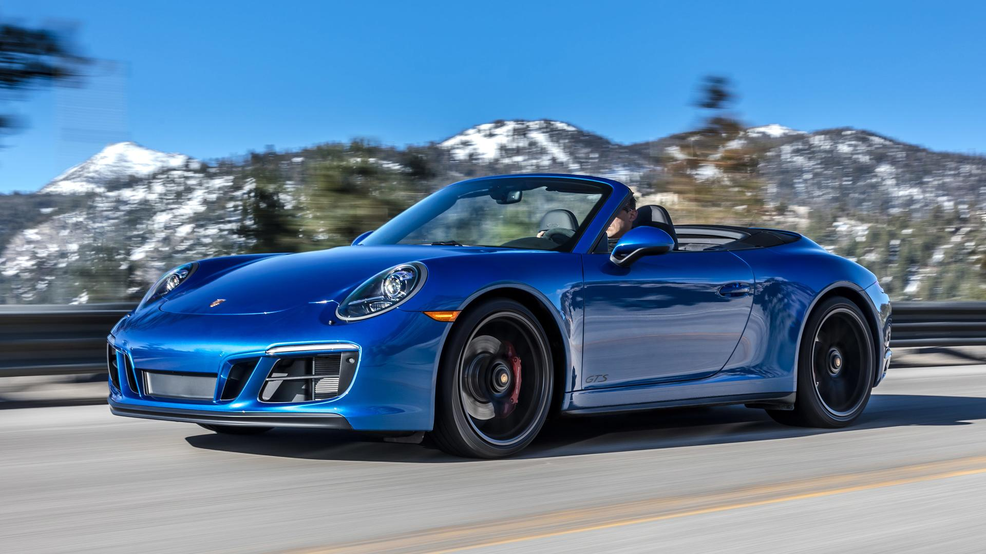 2018 Porsche 911 Carrera Gts First Drive Better In All The