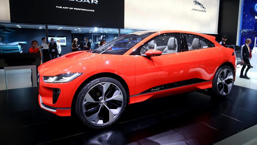 Genève 2017 - Le Jaguar I-Pace concept rougit pour l'Europe