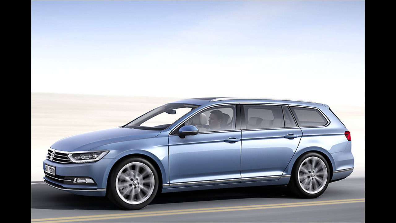 Mittelklasse: VW Passat