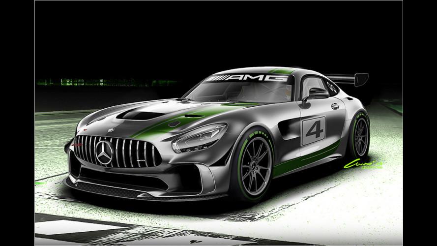 Mercedes-AMG GT jetzt auch als GT4 (2016)