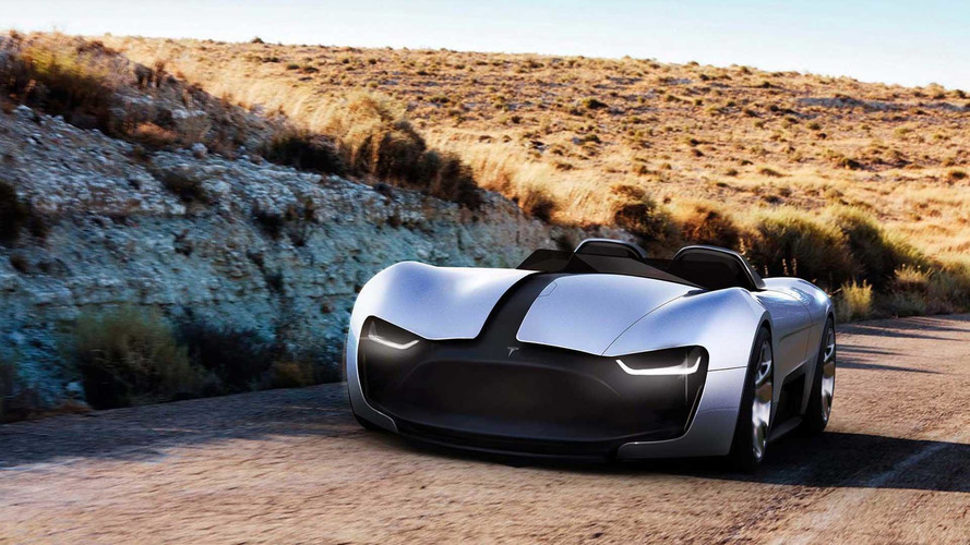 Tesla 2nd Gen Roadster Y Imagined, Looks Fierce