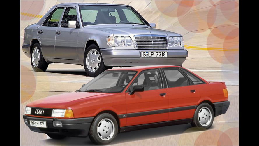 Günstige Autos auf dem Weg zum Oldtimer