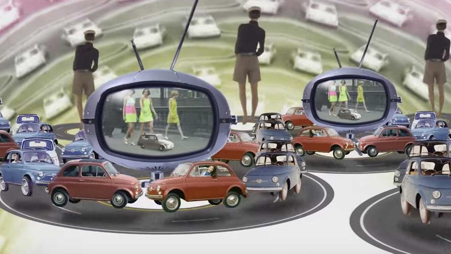 Los 60 años del Fiat 500, en un vídeo sorprendente