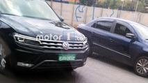Flagra do Novo VW Tiguan Allspace no Brasil