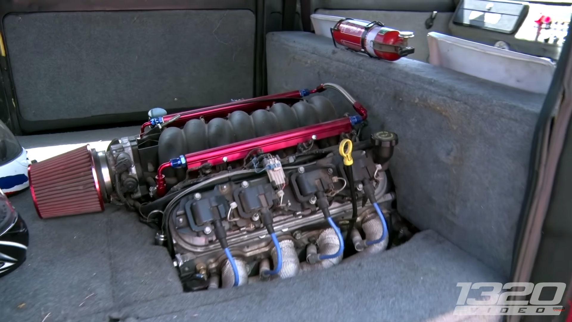 Watch This 1500-Pound Australian Subaru Microvan Totally Fry
