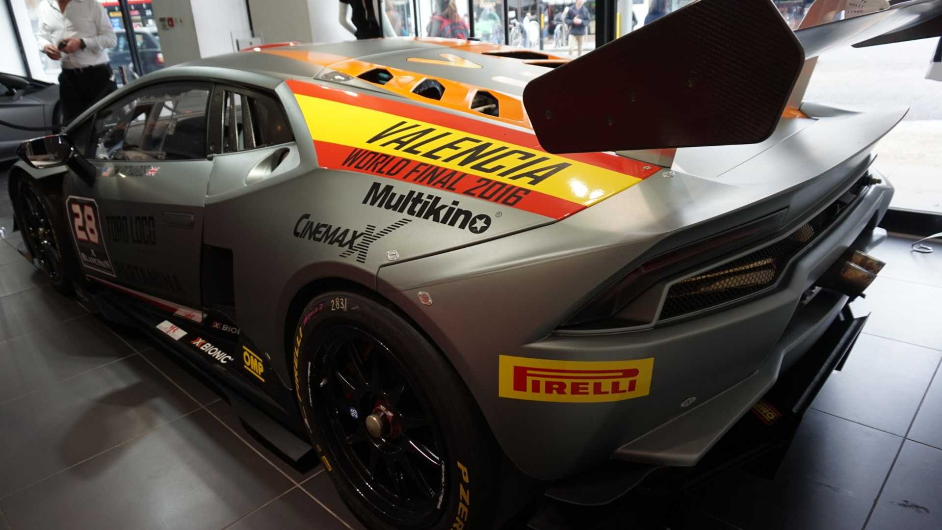 At $180k, This Lambo Huracan Super Trofeo Racer Costs Less ...   2016 Lamborghini Huracan Super Trofeo