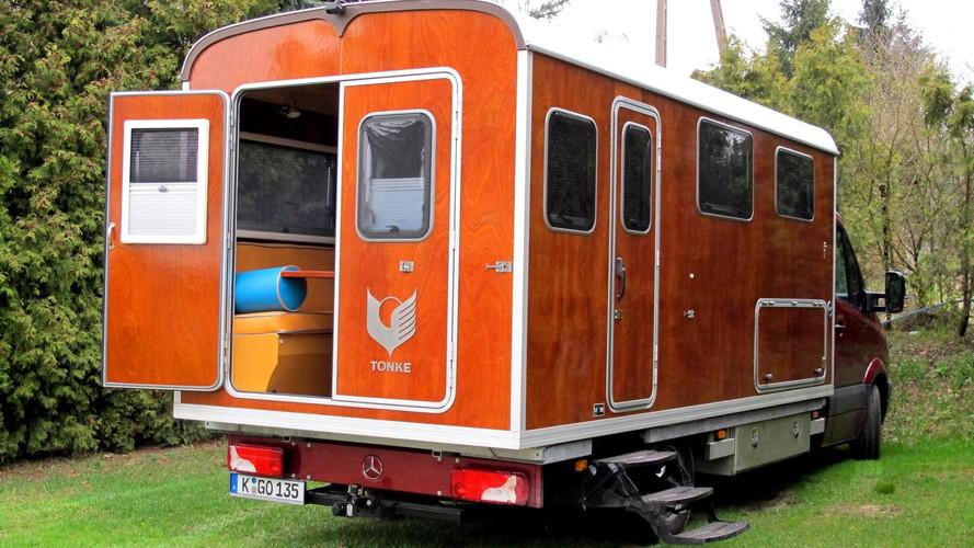 Tonke Wood Mercedes-Benz Sprinter camper