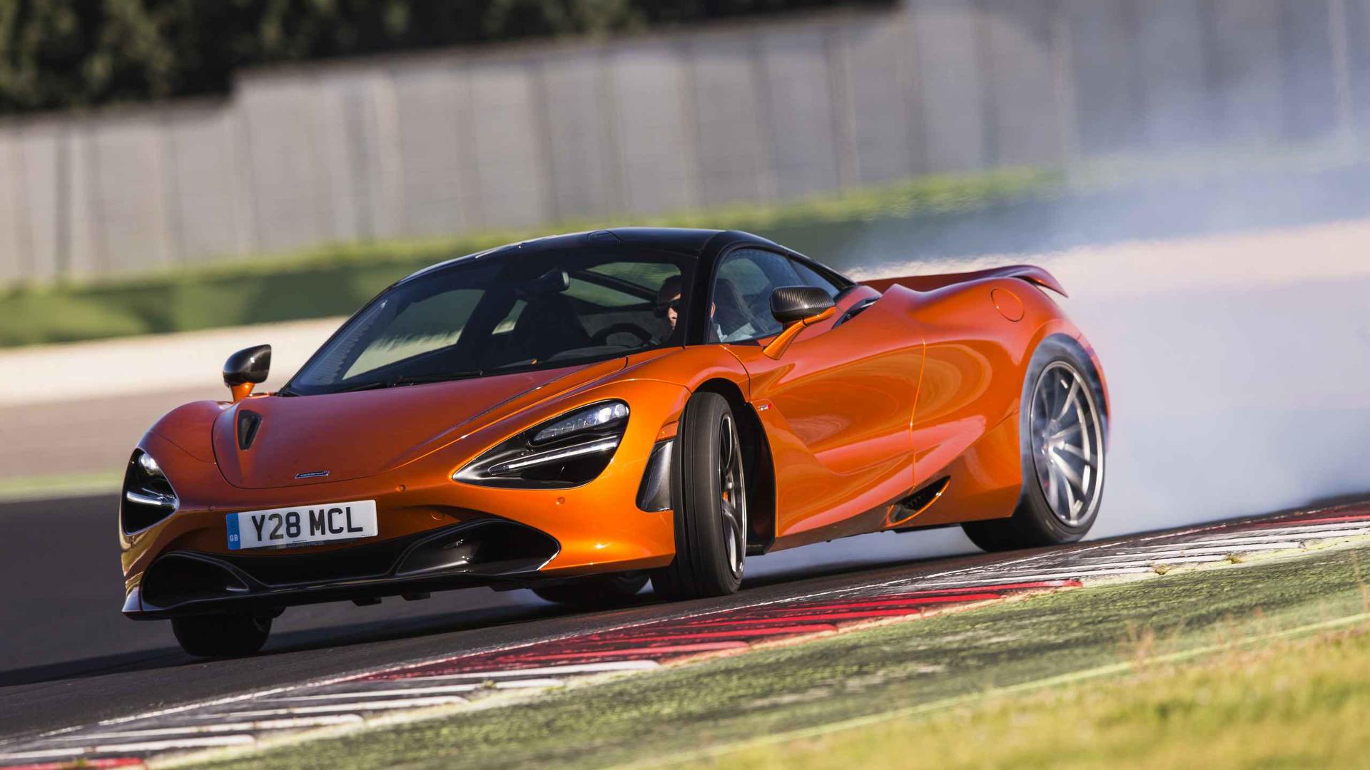 (Tie) McLaren 720S - 1:17.9