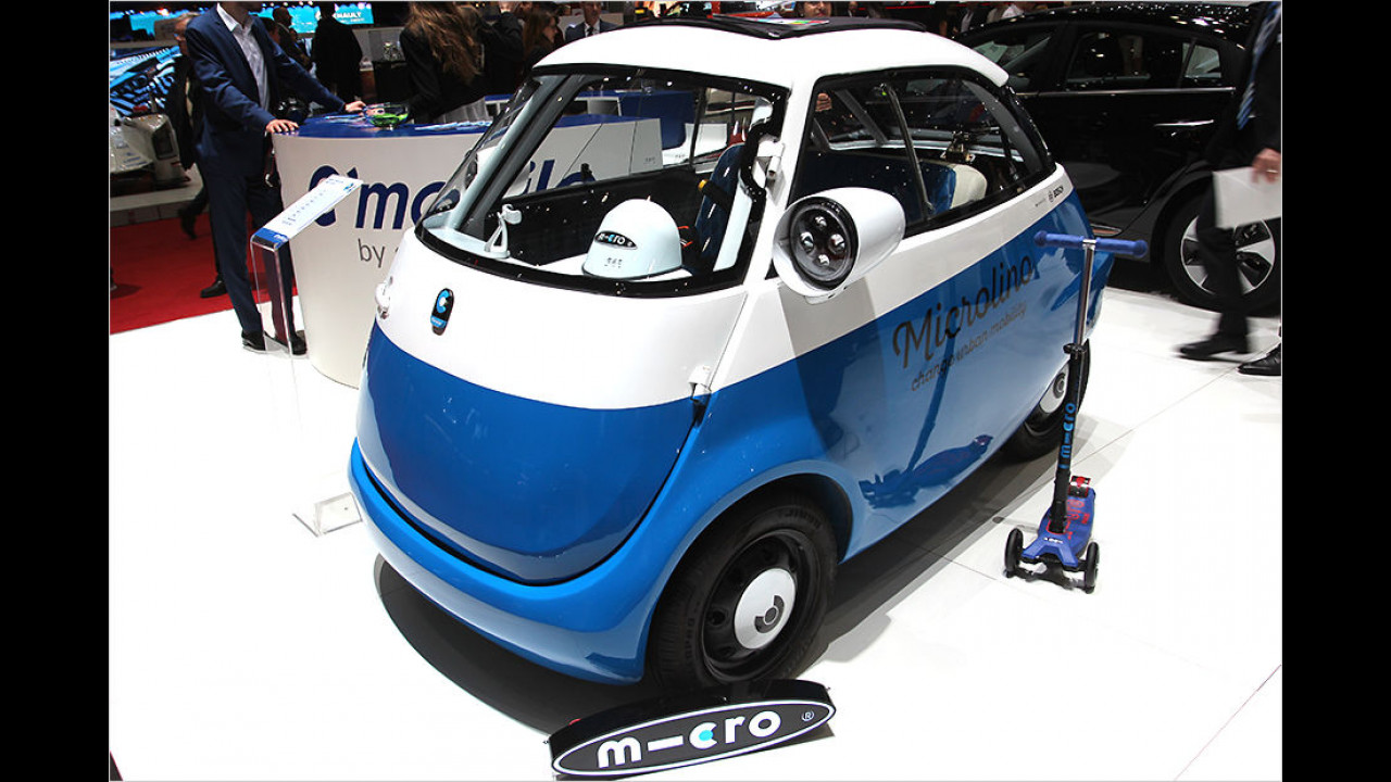 Micro Mobility Systems Microlino