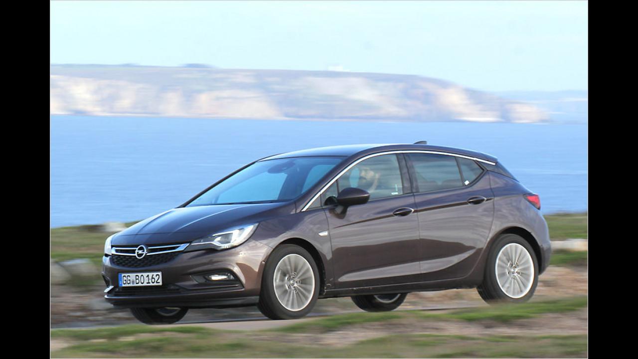 Platz neun: Opel Astra