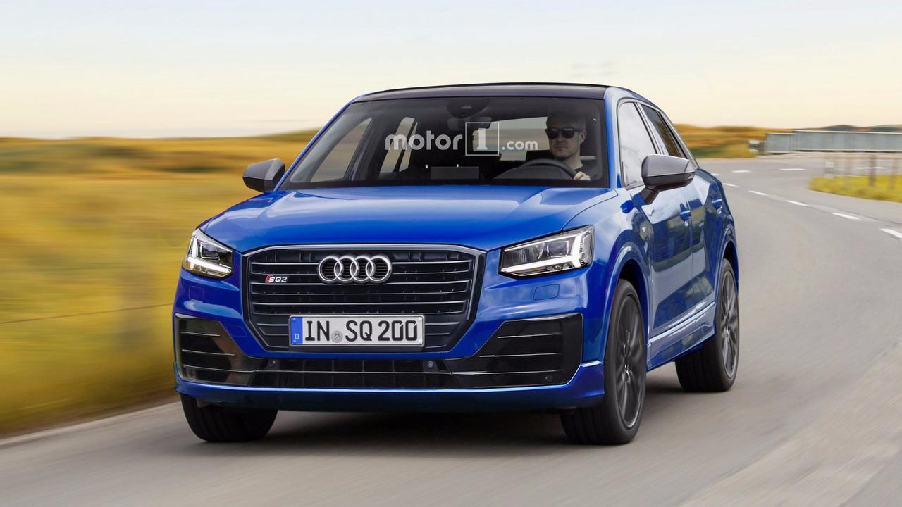 Audi SQ2 render