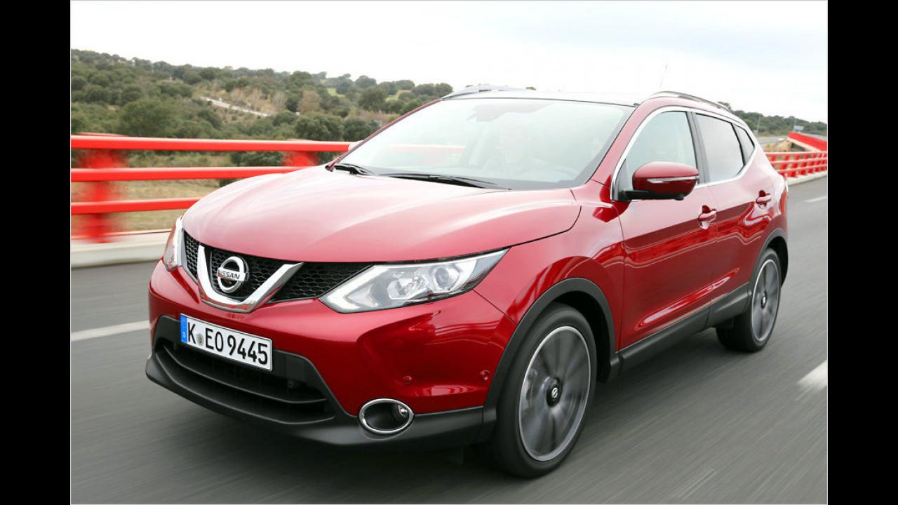 Platz 10: Nissan Qashqai 1.5 dCi (ab 21.890 Euro)