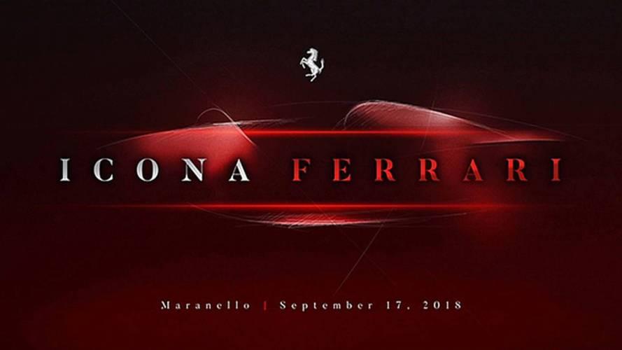 Ferrari - Une voiture très spéciale sera révélée le 17 septembre