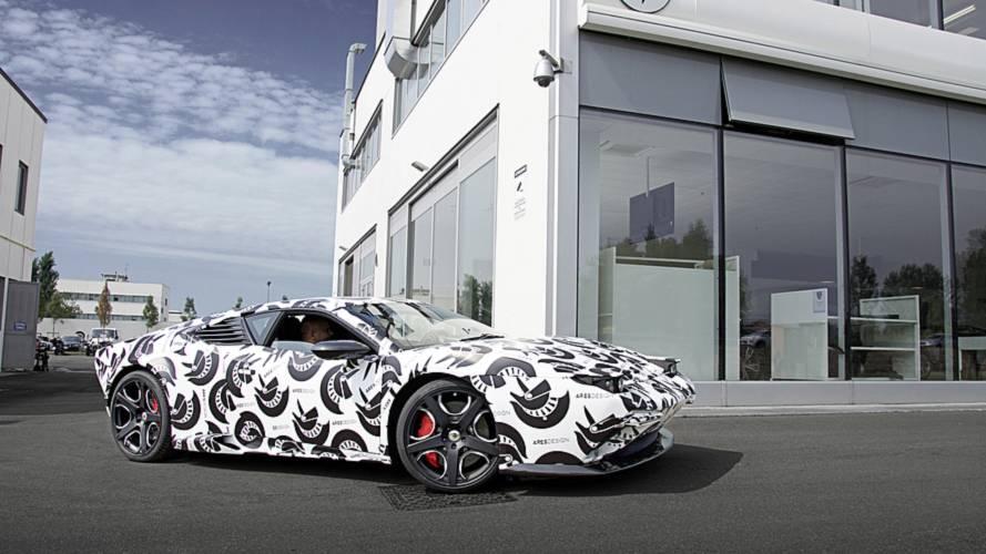 Der Ares Panther ist die Neu-Interpretation des De Tomaso Pantera