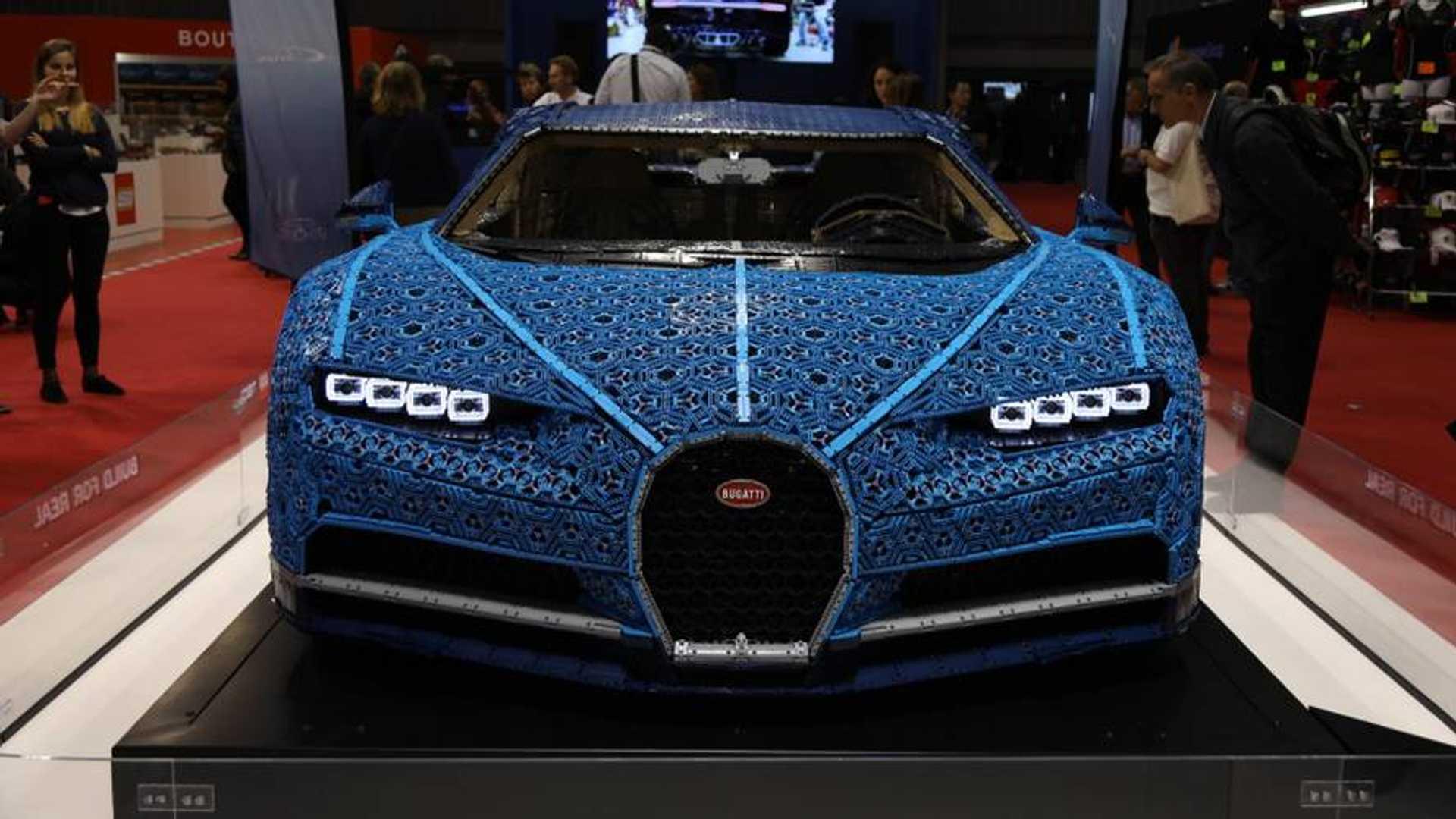 Lego Technic Presenta Un Bugatti Chiron A Tamano Real Actualizado