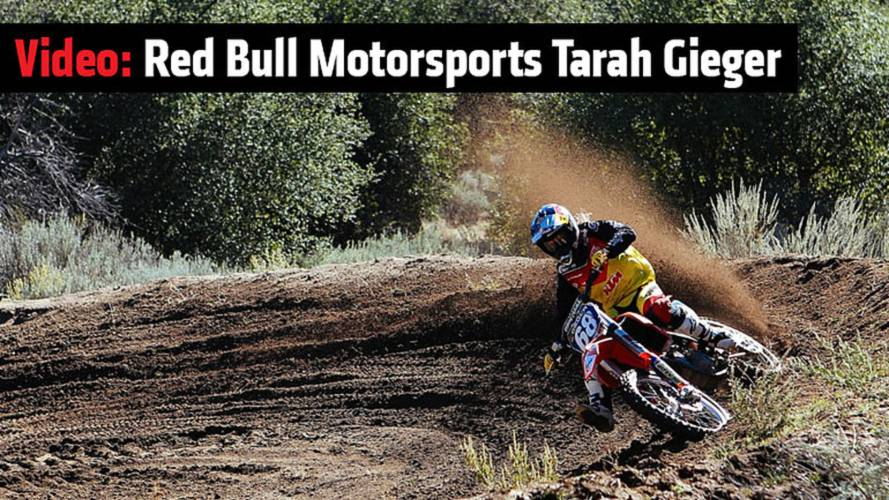 Video: Red Bull Motorsports Tarah Gieger