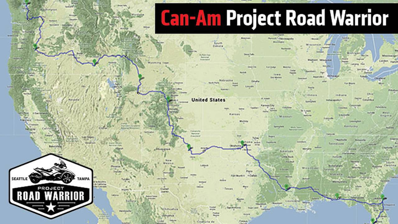 Can-Am Special Operations Road Trip