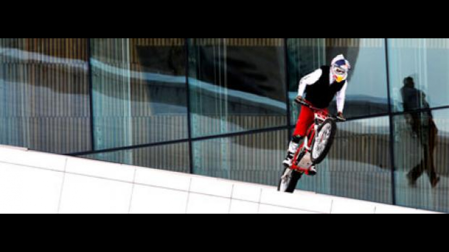Julien Dupont lancia Red Bull ad Oslo