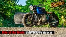 bike of the week bmw r90 6 sidecar