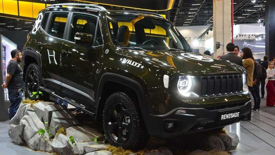 Salão de SP: Jeep lança série especial limitada Renegade Willys