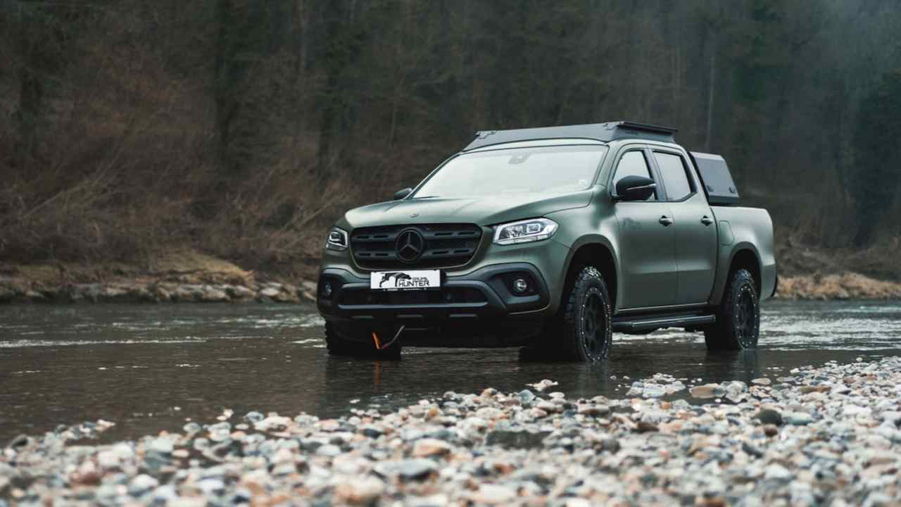 Mercedes-Benz Clase X Gruma Hunter, para cazadores