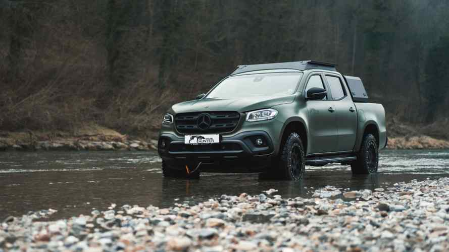 This Mercedes X-Class was built for big game hunting