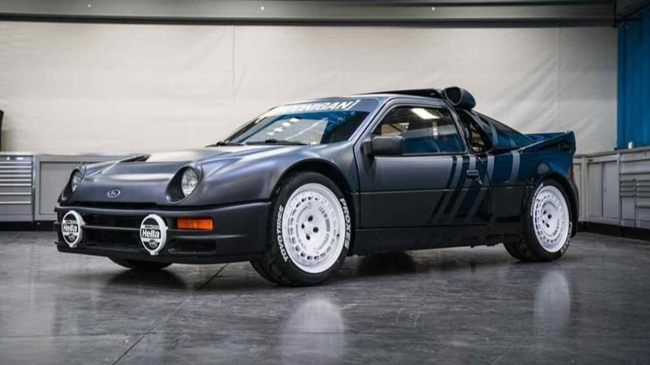 1986 Ford RS200 (Gymkhana 10)