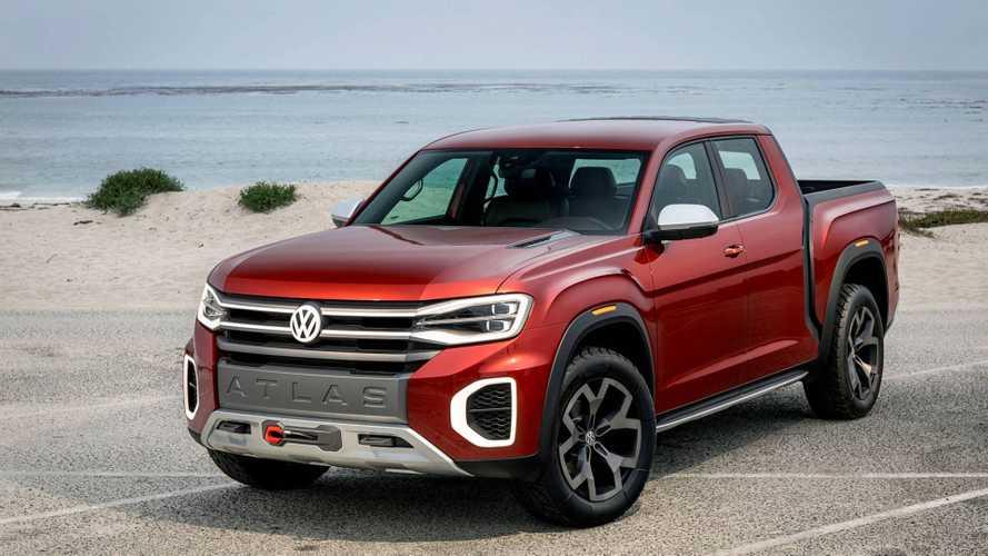 VW Atlas Tanoak: picape derivada de SUV pode ser lançada em 2 anos