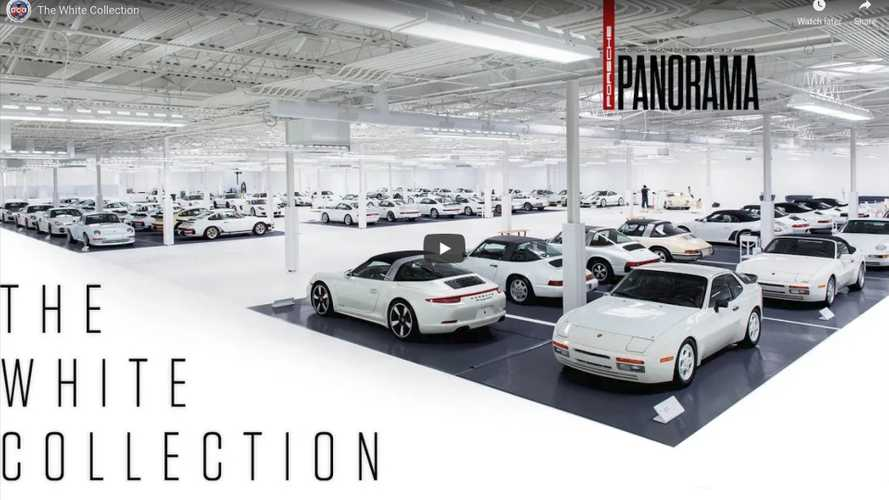Amazing white Porsche collection has us green with envy