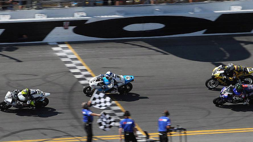 The last 8 laps of the Daytona 200