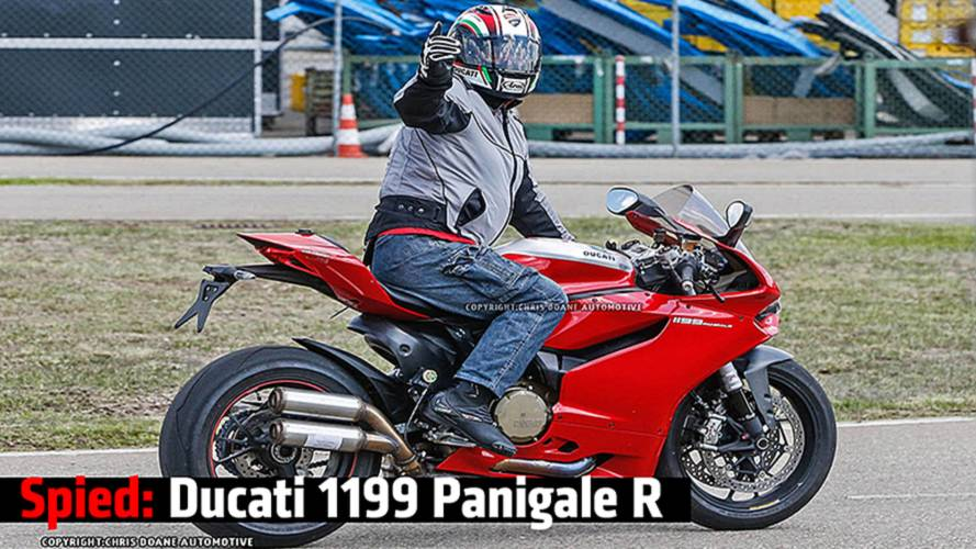 Spied: Ducati 1199 Panigale R